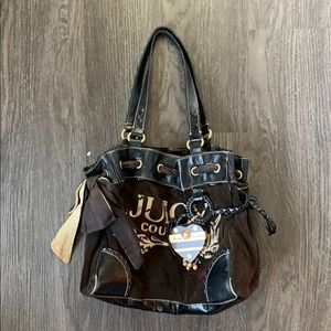 Juicy couture classic terry cloth bag